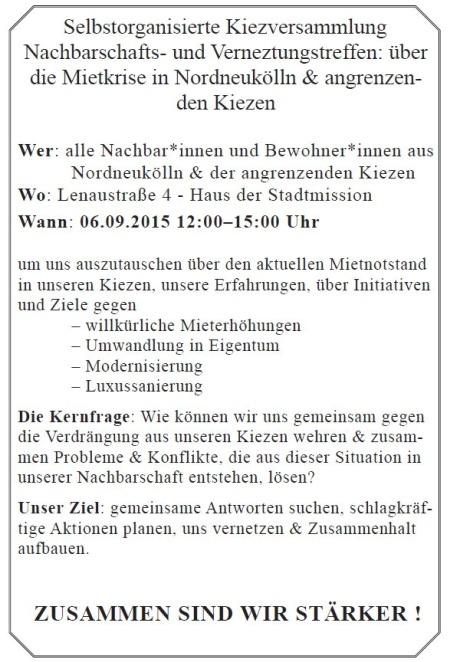 Aufruf Kiezversammlung Nord-Neukölln