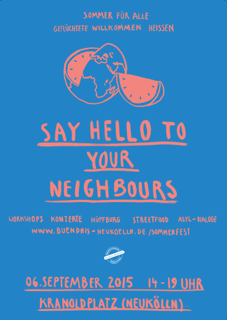 Say hello to your neighbours