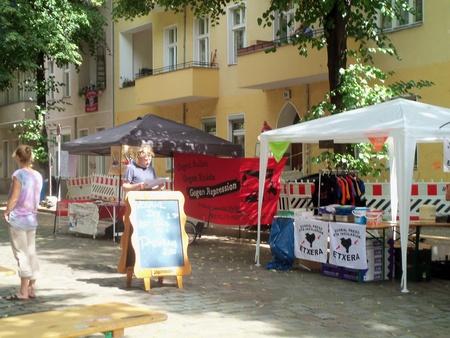 Stände Weisestrassenfest