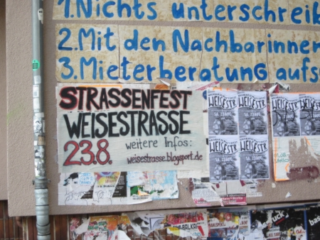 Plakatwand Herrfurthstrasse